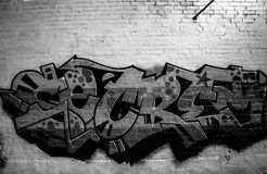 Graffiti Photography. Pictures of  graffiti murals photography around Sydney Royalty Free Stock Image