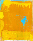 Graffiti. The picture which contains a lot of yellow Royalty Free Stock Images
