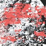 Graffiti plamy na czarnej grunge tła teksturze royalty ilustracja