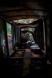 Graffiti pociąg Dokonuje w Whistler Obrazy Royalty Free