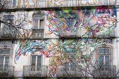 graffiti polityczni Zdjęcia Stock