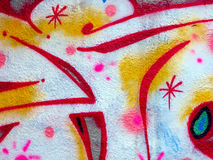 Graffiti, Prague Image stock