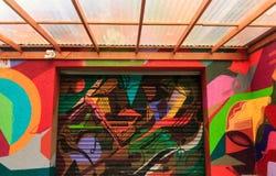 Graffiti psichedelici Immagini Stock