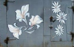 Graffiti romantici Fotografia Stock Libera da Diritti