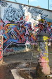 Graffiti in Rome Royalty Free Stock Photography