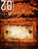 Graffiti rouillé Image libre de droits