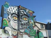 Graffiti & ruins Royalty Free Stock Photos