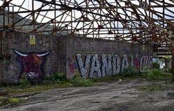 Graffiti Schotse stijl Royalty-vrije Stock Fotografie