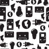 Graffiti seamless pattern Stock Image