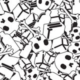 Graffiti seamless pattern Royalty Free Stock Images