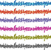 Graffiti seamless tag patterns in multiple color Stock Photos