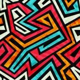 Graffiti  seamless texture with grunge effect Stock Image