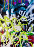 Graffiti series Royalty Free Stock Photography