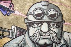 Graffiti shipbuilder Stock Photography
