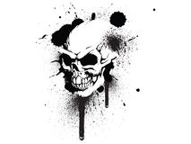Graffiti Skull vector illustration