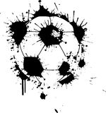 Graffiti Soccer Ball Royalty Free Stock Image
