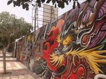 Graffiti spagnoli Immagini Stock