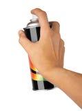 Graffiti spray can