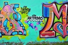 Graffiti. Royalty Free Stock Photos