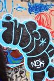 Graffiti. Stock Photo