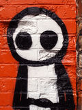 Graffiti Stick Man Royalty Free Stock Image