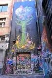 Graffiti-Straßenkunst Stockfotos