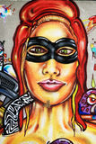 Graffiti - Straßenkunst Lizenzfreie Stockfotografie