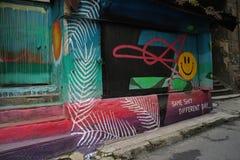 Graffiti, Street Art, Art, Mural Stock Photo