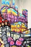 Graffiti - Street art Stock Image