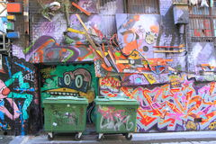 Graffiti Street art Stock Image