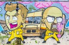 Graffiti, street art Royalty Free Stock Photos