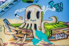 Graffiti, street art Stock Image