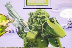 Graffiti, street art Royalty Free Stock Images