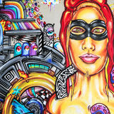 Graffiti - Street art Royalty Free Stock Photography