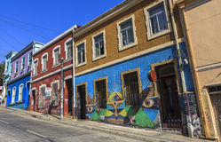 Graffiti on the street of Quito Royalty Free Stock Photography