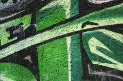 Graffiti structure Stock Photography
