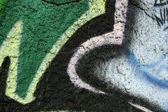 Graffiti structure Royalty Free Stock Photos