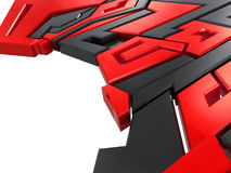 Graffiti style design element Royalty Free Stock Photo