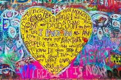 Graffiti su una parete illustrazione vettoriale