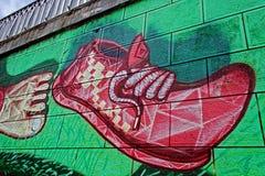 Graffiti 12 stock image