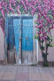 Graffiti sulla parete in Yazd Fotografia Stock Libera da Diritti