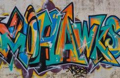 Graffiti sztuka Fotografia Royalty Free