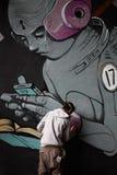 Graffiti sztuka Fotografia Stock
