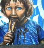 Graffiti sztuka Zdjęcia Royalty Free