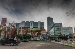 Graffiti sztuka w Toronto Obraz Royalty Free