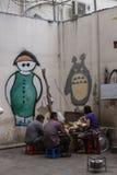 Graffiti sztuka w Wietnam Obrazy Royalty Free