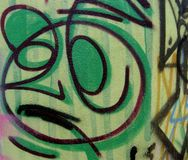 Graffiti and tags Stock Photos