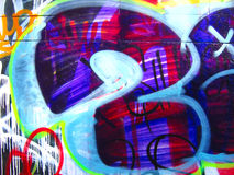 Graffiti.Texture Royalty-vrije Stock Foto
