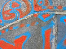 Graffiti.Texture Stock Image