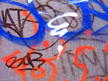 Graffiti.Texture Royalty-vrije Stock Fotografie